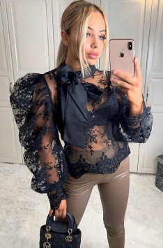 Top LUXURY SECRET (black)