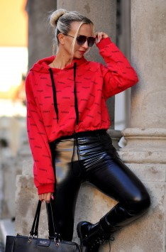 Mikina FASHION LOOK (red)